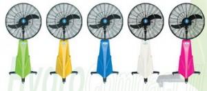 Hydro-Air Misting Fan